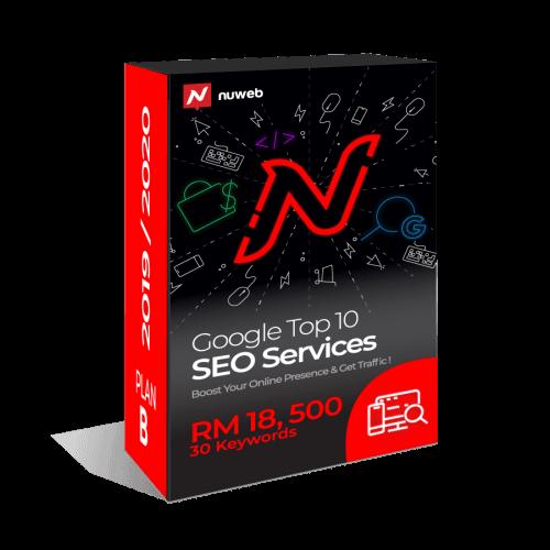 Nuweb - SEO Plan B RM18500