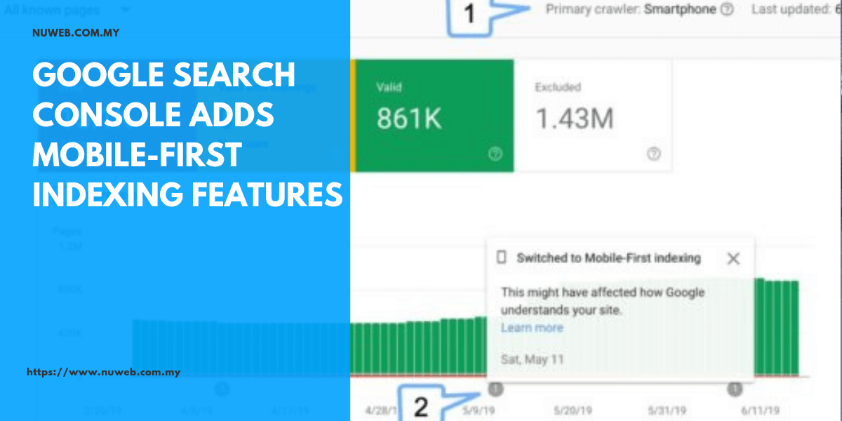 Google Search Console adds mobile-first indexing features