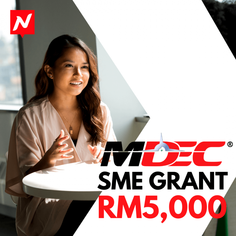 Nuweb - MDEC Grant RM5,000