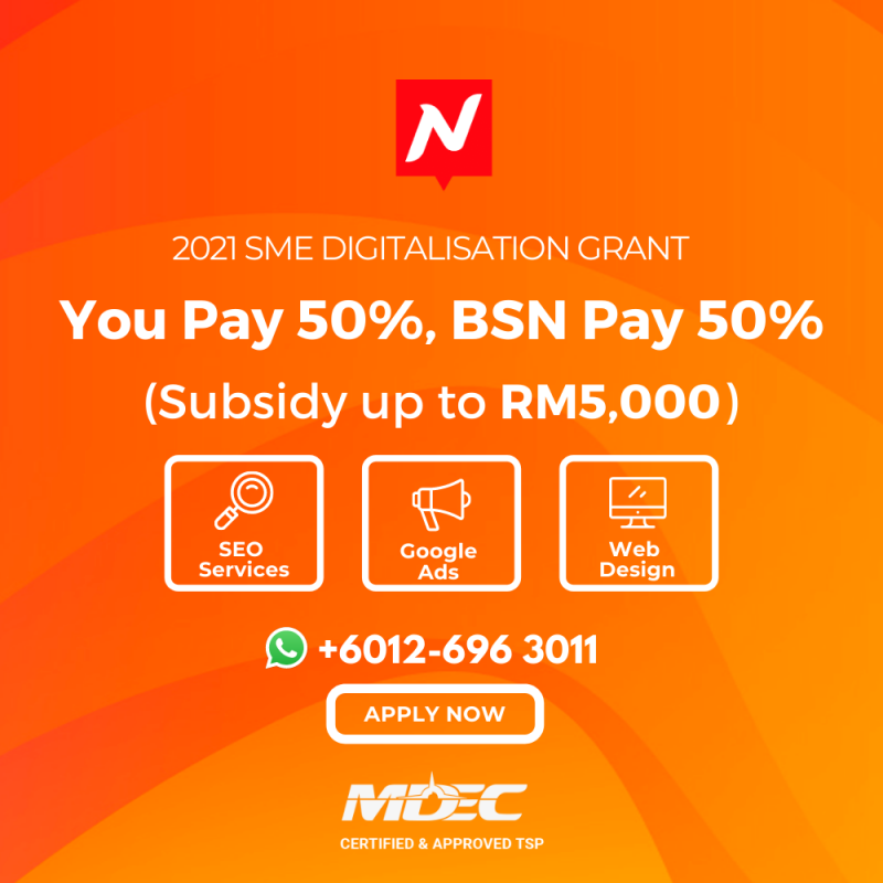 Nuweb - MDEC SME Digital Grant 2021